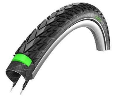 Schwalbe ENERGIZER PLUS TOUR Wire Tire 28x1.40, 700x35C GreenGuard 67 TPI Black-Reflex