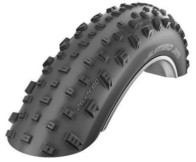 Schwalbe JUMBO JIM Folding Tire 26x4.00 LiteSkin 127 TPI Black
