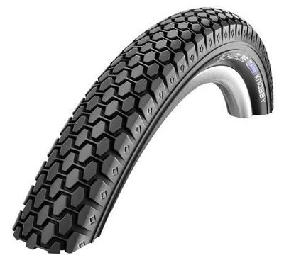 Schwalbe KNOBBY Wire Tire 20x2.00 K-Guard 50 TPI Black