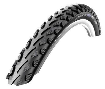 Schwalbe LAND CRUISER Wire Tire 24x1.75 K-Guard 50 TPI Black-Reflex