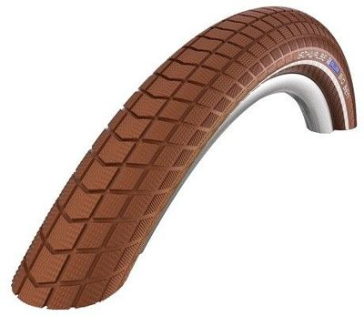 Schwalbe LITTLE BIG BEN Wire Tire 28x1.50, 700x38C K-Guard 50 TPI Brown-Reflex
