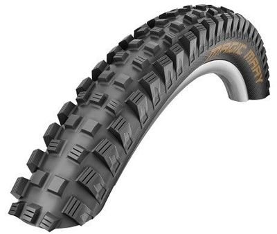 Schwalbe MAGIC MARY Folding Tire 27.5x2.35, 650B SnakeSkin, TL Easy 67 TPI Black