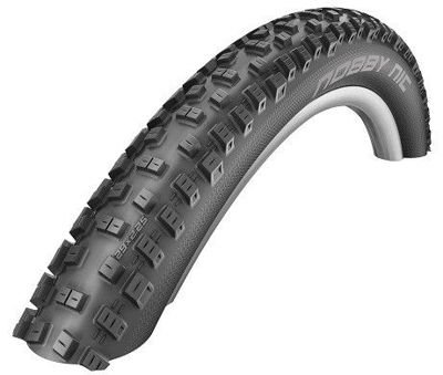 Schwalbe NOBBY NIC Folding Tire 27.5x2.25, 650B Double Defense, TL Easy 67 TPI Black