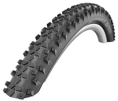 Schwalbe SMART SAM Wire Tire 28x1.60, 700x40C Performance 67 TPI Black-Reflex