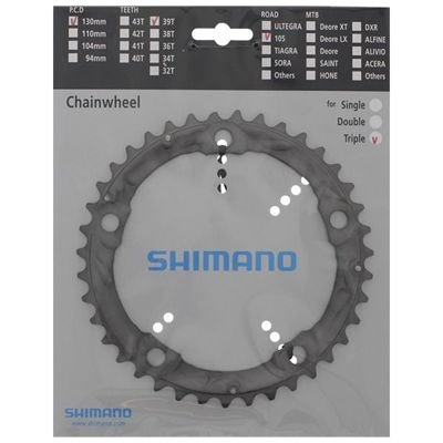 Shimano CHAINRING FC-5703S 39T-D SILVER                                            105
