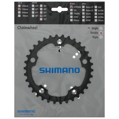 Shimano CHAINRING FC-6650 34T ICE GREY                                             Ultegra