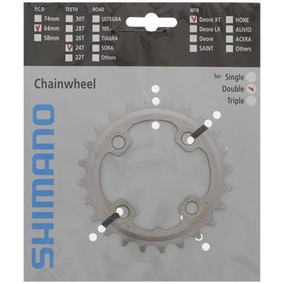 Shimano CHAINRING FC-M785 24T-AM                                                   Deore XT