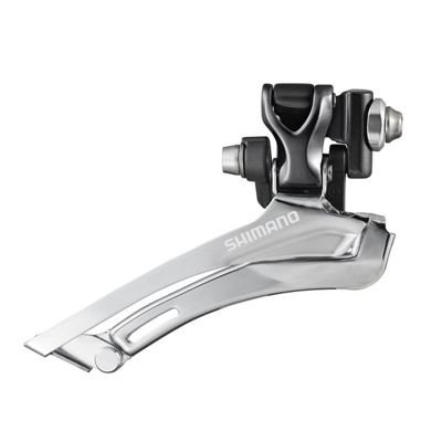 Shimano FRONT DERAILLEUR,CYCLO, TP BRAZED-ON TYPE FOR DOUBLE                       Non-Series