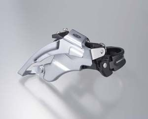 Shimano FRONT DERAILLEUR DEORE M590 TOP-SWING, 66-69 DEGREES                       Deore