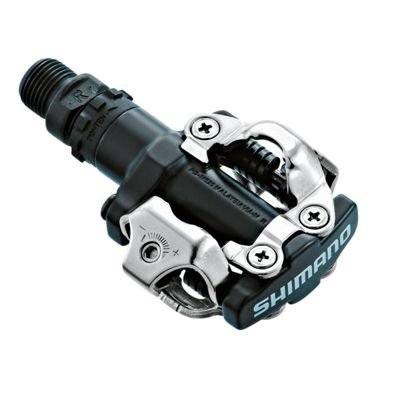 Shimano PEDALS PD-M520 SPD BLACK W/CLEATS SM-SH51, BLACK
