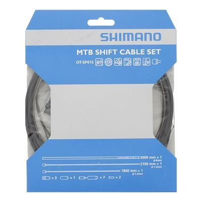 Shimano PTFE SHIFT CABLE SET MTB BLACK
