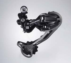 Shimano REAR DERAILLEUR DEORE M592 SHADOW, BLACK                                   Deore