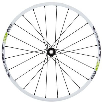 Shimano WHEEL, WH-MT35-26, FRONT 24H CLINCHER, WHITE