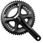 Shimano CRANK SET 105 5800 BLACK 172.5MM, 50X34T W/O BB 11-SPEE                    105