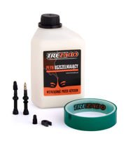 Trezado Tubeless Ready KIT, black valves 60 mm