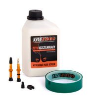 Trezado Tubeless Ready KIT, gold valves