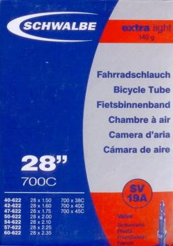 Schwalbe Extra Light Tube 28x1.50-2.35 presta