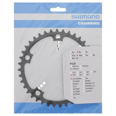 Shimano CHAINRING FC-6601G 39T ICE GREY                                            Ultegra