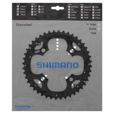 Shimano CHAINRING FC-M530 44T BLACK FOR FC-M530-L CG                               Deore