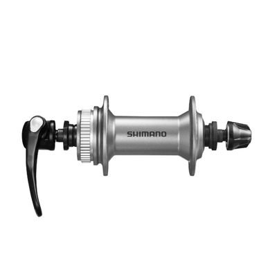 Shimano FRONT HUB,36H,CL, SILVER OLD:100MM AXLE:108MM,QR:133MM