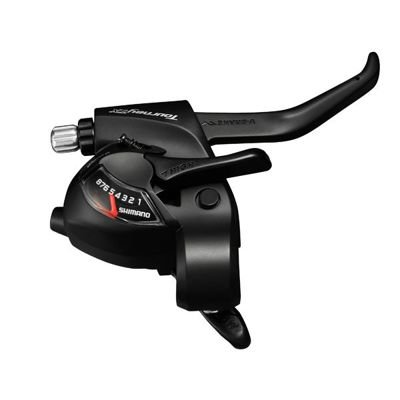 Shimano SHIFT/BRAKE LEV.,BL,RIGHT 8S 2050MM,EZ-FIRE PLUS,2F, V-BRAK