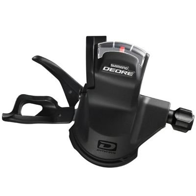 Shimano SHIFTER DEORE LEFT 2/3SPEED, BLACK                                         Deore