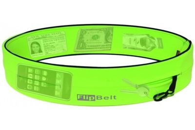 FlipBelt(TM) Neon Green by Level from USA for all kinds of activity, gym, run, walk