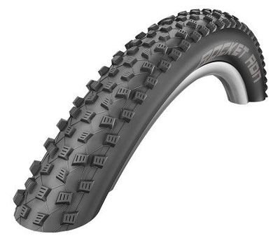 Schwalbe ROCKET RON Folding Tire 26x2.25 SnakeSkin, TL Easy 67 TPI Black
