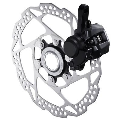 Shimano CABLE TYPE DISC-BRAKE FOR ROAD BR-R317,FRONT W/ADAPTER