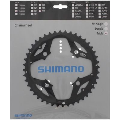 Shimano CHAINRING FC-M580 44T BLACK                                                Deore LX