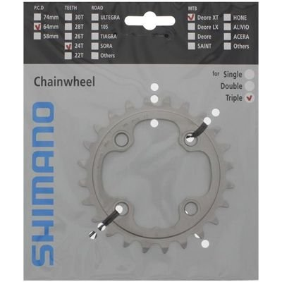 Shimano CHAINRING FC-M780 24T-AE                                                   Deore XT