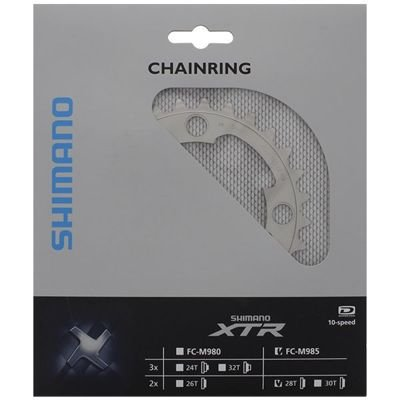 Shimano CHAINRING FC-M985 28T-AG FOR 40-28T                                        XTR