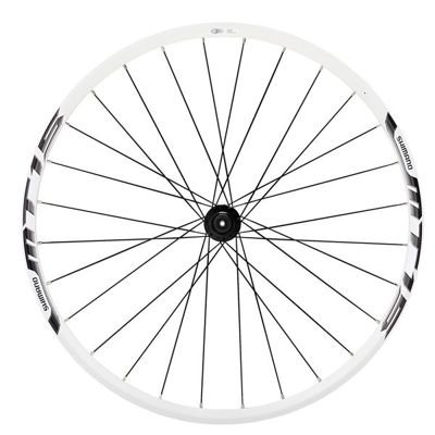 Shimano WHEEL, WH-MT15-A-26, FRONT 28H CLINCHER, WHITE