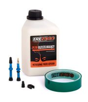 Trezado Tubeless Ready KIT, blue valves