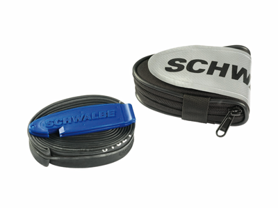 Schwalbe Saddle Bag - contains tube and two tire levers