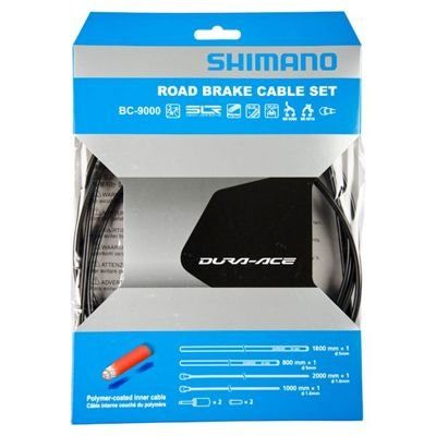 Shimano BRAKE CABLE SET DURA-ACE 9000 BLACK, POLYMER COATED