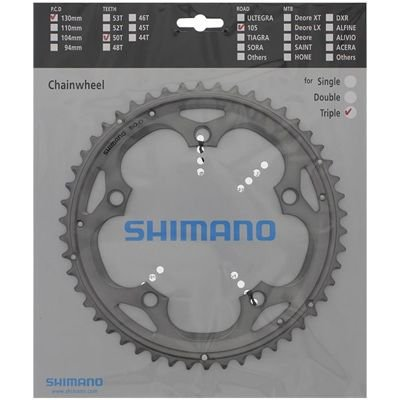 Shimano CHAINRING FC-5703S 50T-D SILVER                                            105