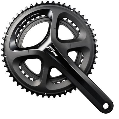 Shimano CRANK SET 105 5800 BLACK 172.5MM, 52X36T W/O BB 11-SPEE                    105