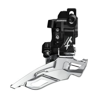 Shimano FRONT DER, XT, DS, DP , BLACK DIRECT MOUNT                                 Deore XT