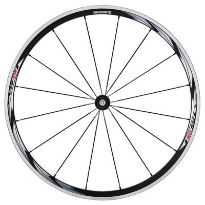 Shimano WHEEL FRONT WH-RS31 16H QR BLACK STICKER